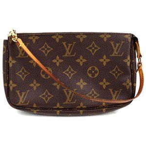 Auth Louis Vuitton Pochette Mini Bag #3451L21